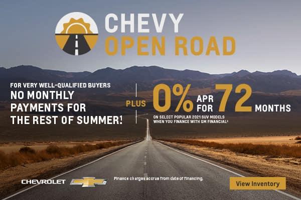Chevy Open Road