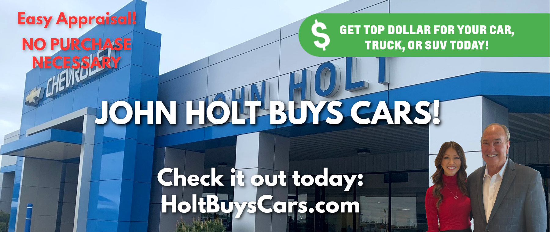 John Holt Buys Cars