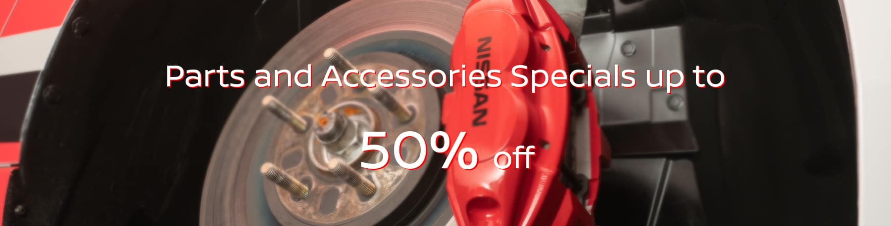 parts and sccessories specials
