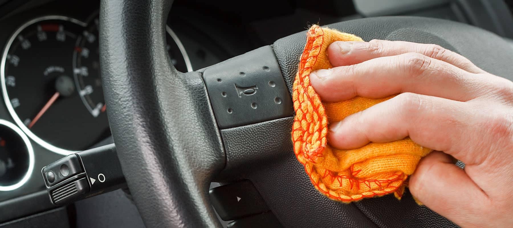 Steering Wheel Detailing