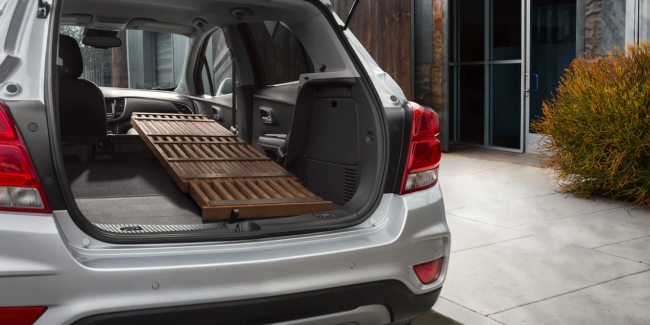 Cargo Area in the 2021 Trax