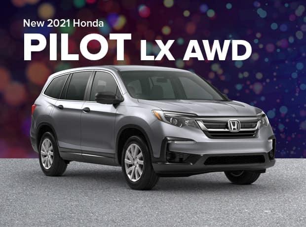 New 2021 Honda Pilot LX