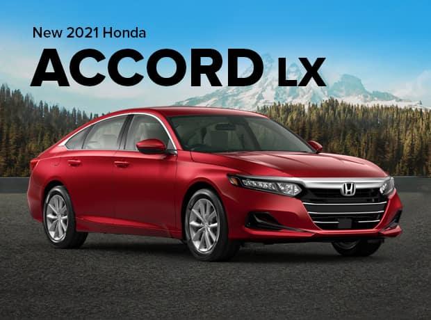 New 2021 Honda Accord Sedan