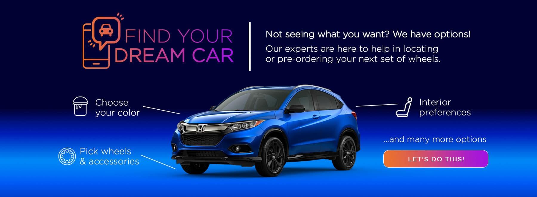 Kuni Honda Pre-Order Dream Car