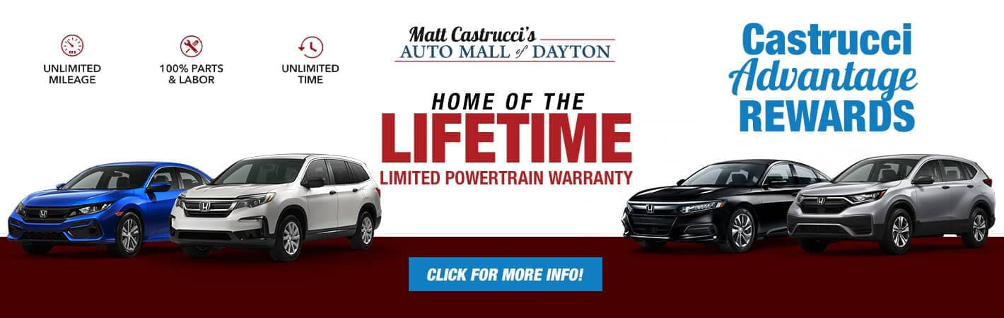 Castrucci Advantage Rewards banner