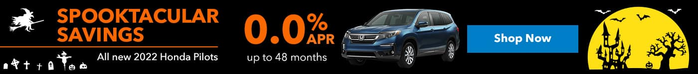 All new 2022 Honda pilots 0.0% up to 48 months