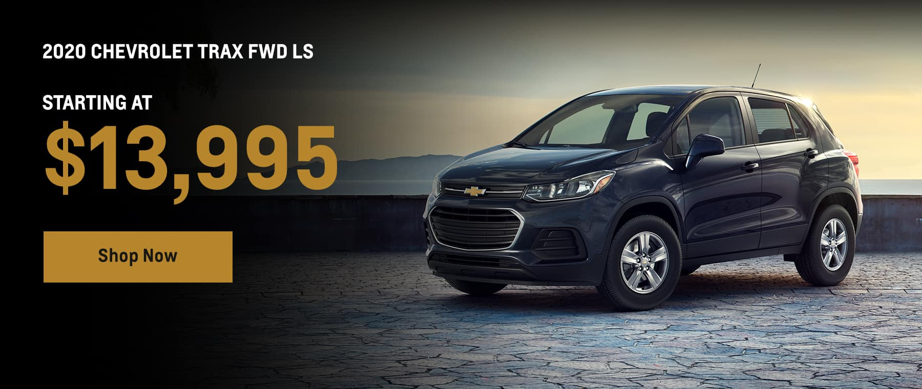 2020 Chevrolet Trax starting at $13,995