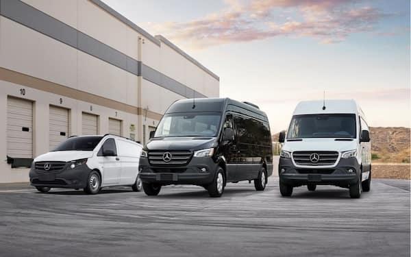 CPO MB vans