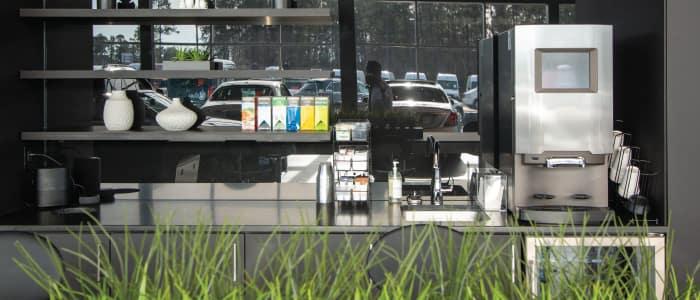 Refreshments at Mercedes-Benz Van Center – Baker