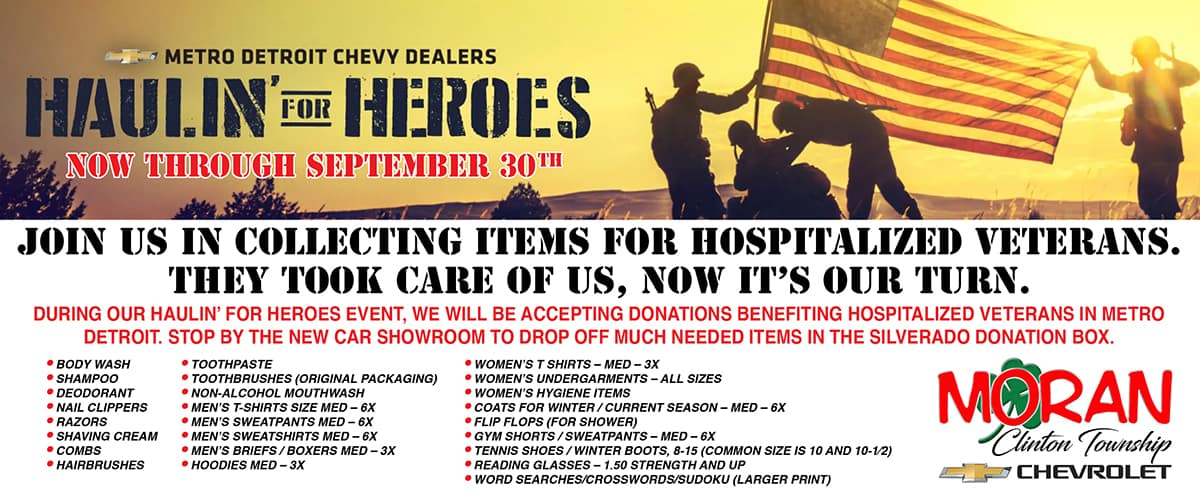 1200×525 Chevy Haulin for Heroes Sept 2021 CT NEW