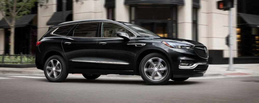 2021 Buick Enclave Driving