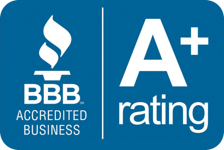 Better Business Bureau A+ Rating Logo