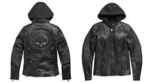98011-21VW - Harley Women's Auroral II 3-in-1 Leather Jacket