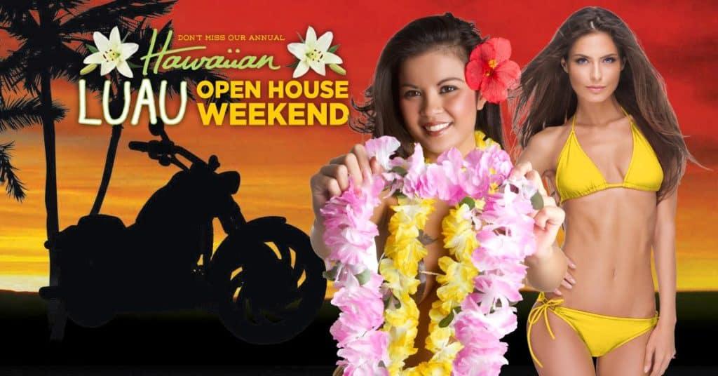 Luau Open House
