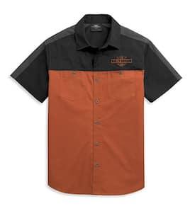 96455-21VM - Harley Men's Colorblock Logo Shirt