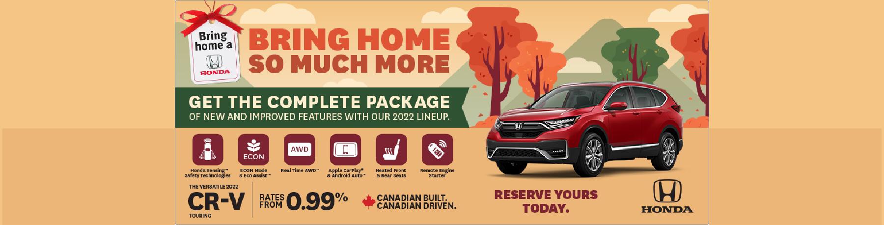Bring Home a 2021 Honda CR-V – Penticton Honda