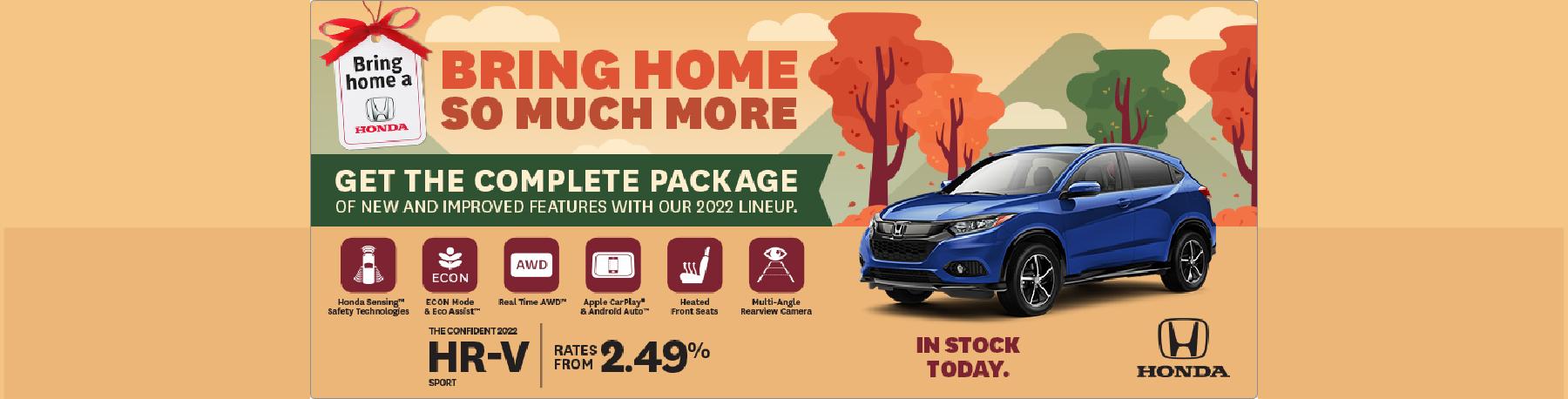 Bring Home a 2021 Honda HR-V – Penticton Honda