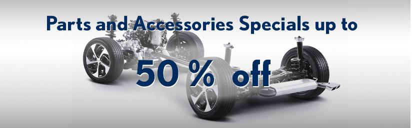 50% off parts