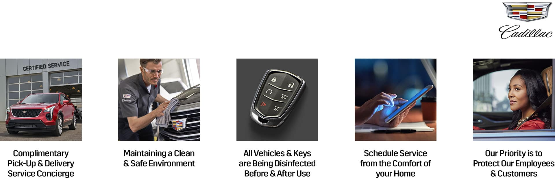 All the ways Cadillac Concierge is here for you.