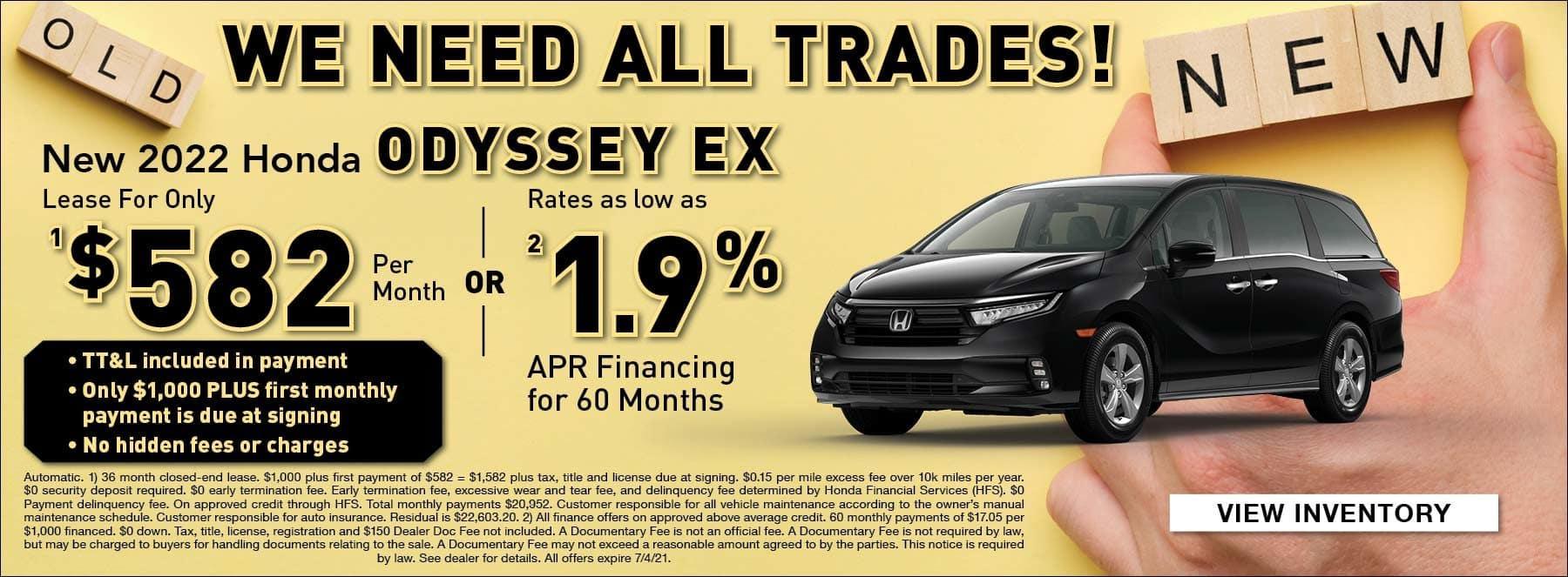 Odyssey EX