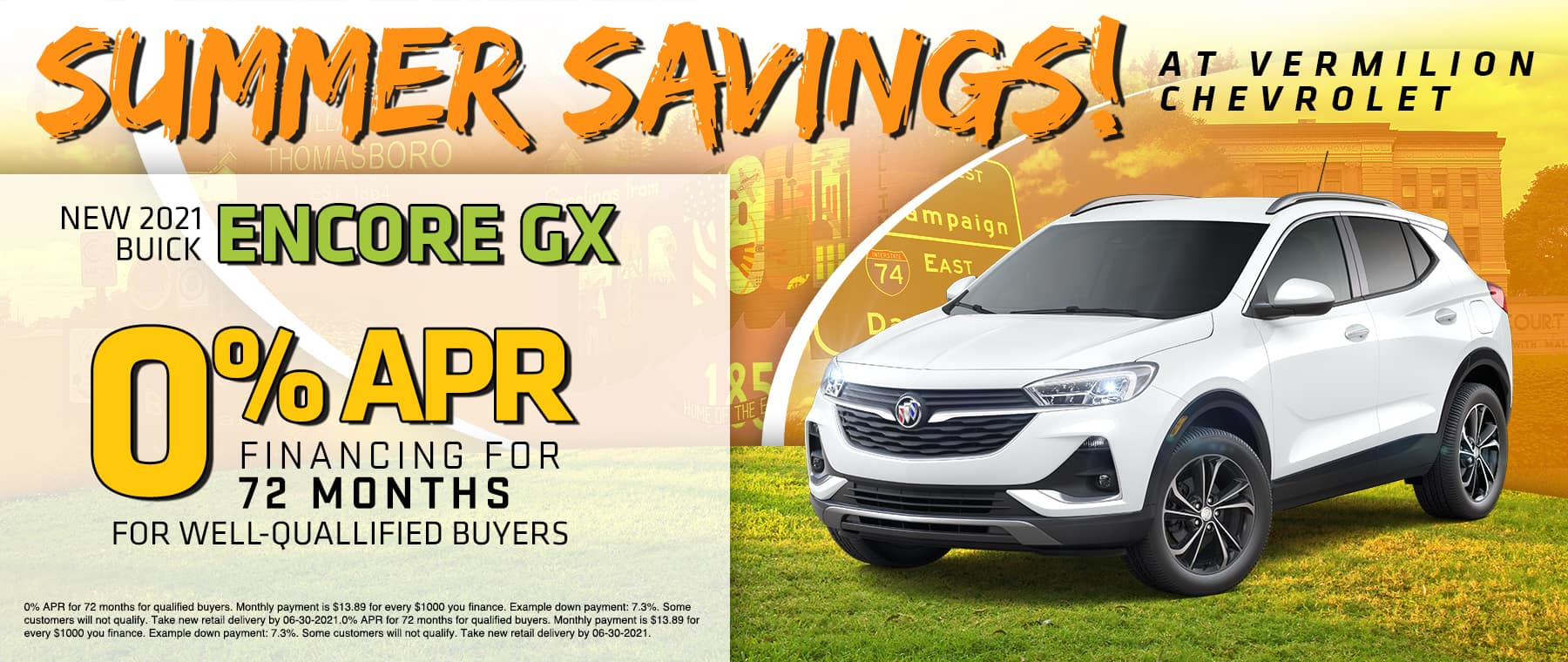 2021 BUICK ENCORE GX 0% APR FOR 72 MONTHS FOR WELL-QUALIFIED BUYERS