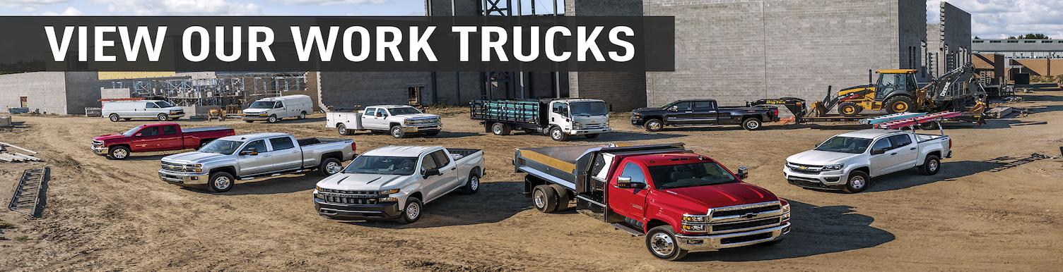 checvy work trucks