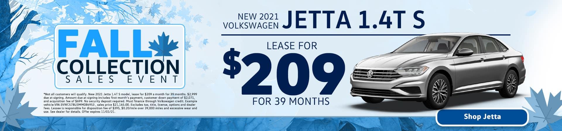 New 2021 Volkswagen Jetta 1.4T S for Sale in Tampa, FL