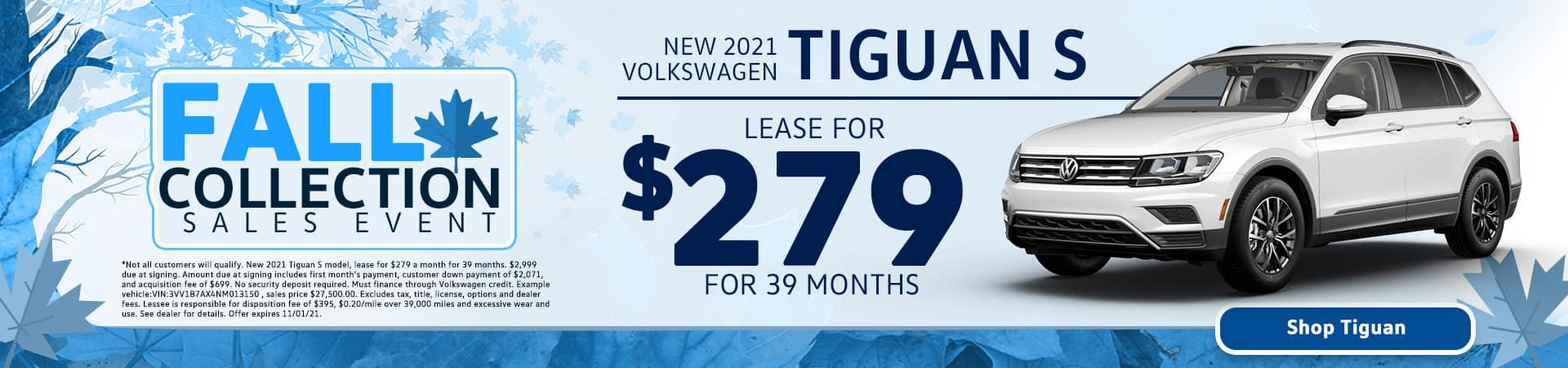 New 2021 Volkswagen Tiguan S for Sale in Tampa, FL