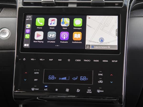 2022 Hyundai Tucson Infotainment System Touchscreen