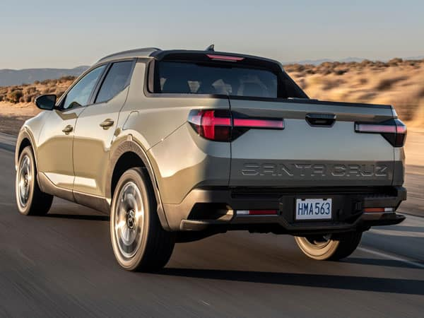 2022 Hyundai Santa Cruz Rear End & Tailgate
