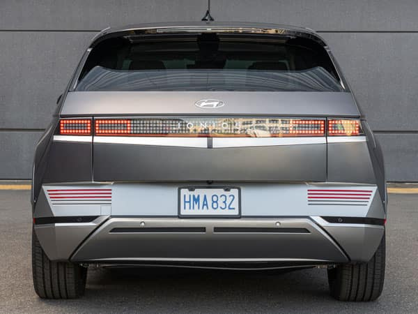 2022 Hyundai IONIQ 5 Rear Angle