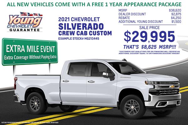 2020 Chevrolet Silverado Crew Cab
